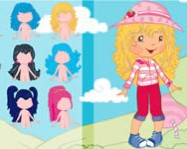 Strawberry Shortcake Dressup online eperke j�t�k